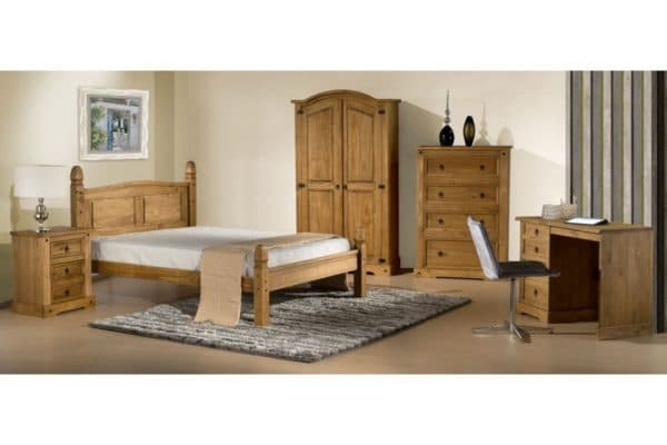 Corona Low End Bed-395