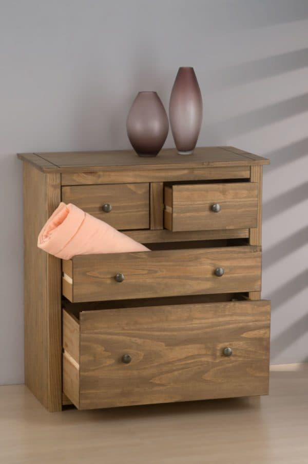 Santiago 2+2 Drawer Chest-3257