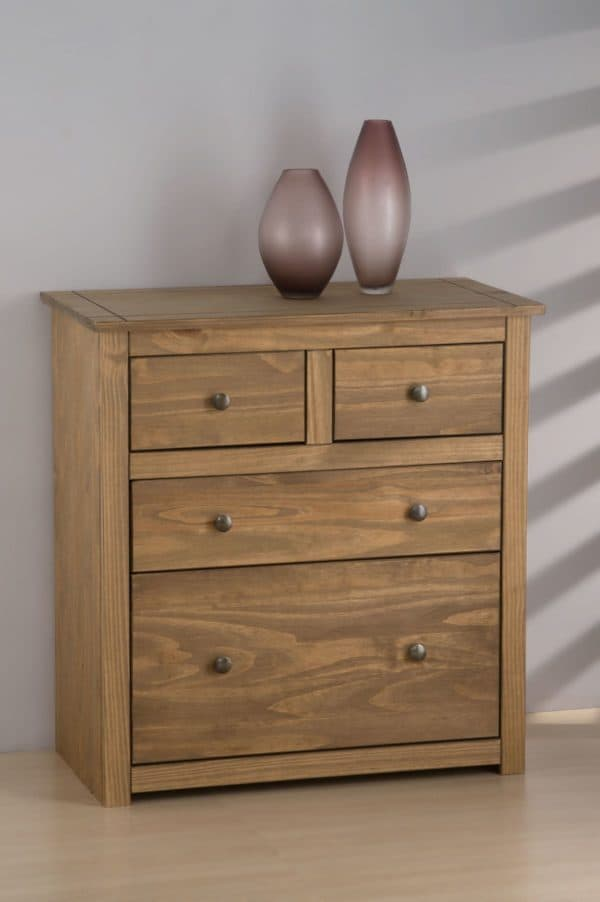 Santiago 2+2 Drawer Chest-3255