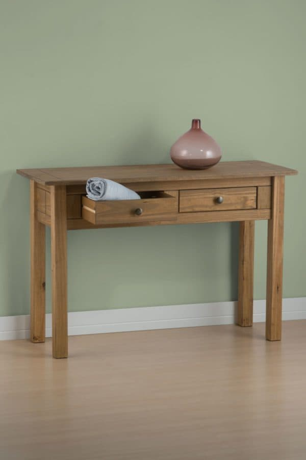 Santiago 2 Drawer Console Table-3269