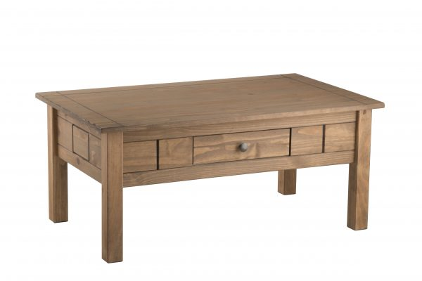 Santiago 1 Drawer Coffee Table-3560