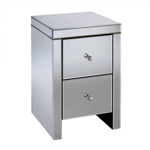Seville 2 Drawer Bedside -6985