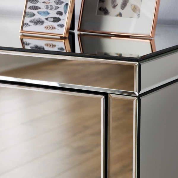 Seville 2 Drawer Bedside -7029