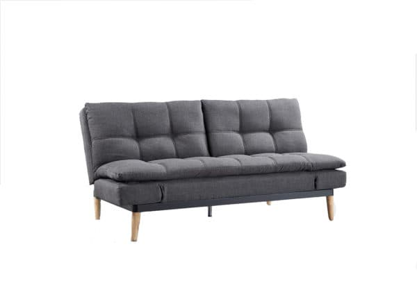 Contemporary Squish Grey Fabric Sofa Bed