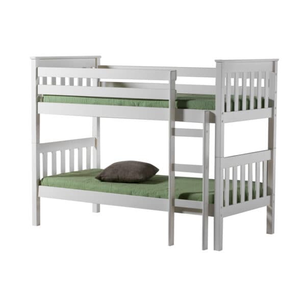 Portland Bunk Bed in White Pine